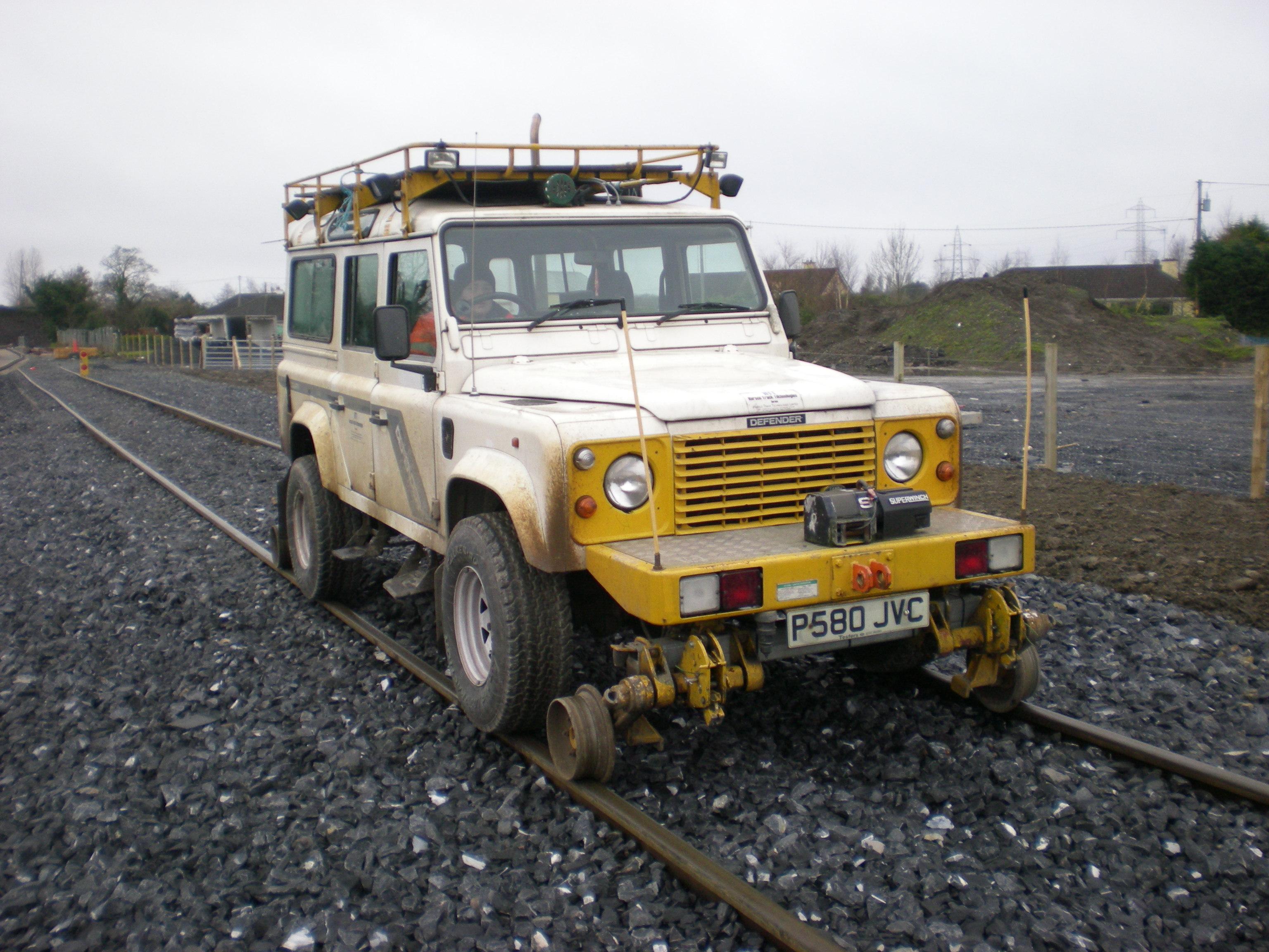 Rail Jeep